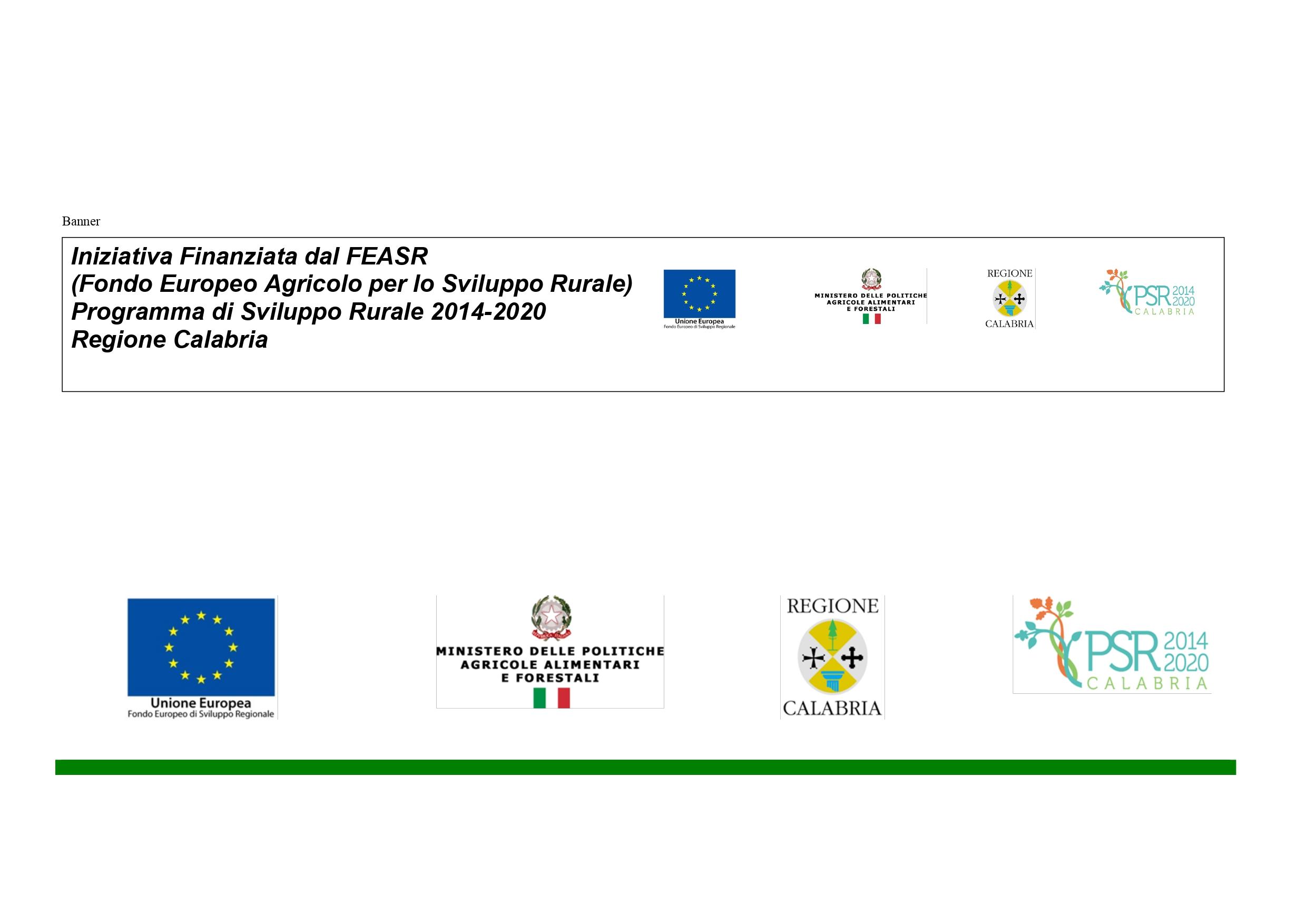 Programma di Sviluppo Rurale 2014/2020  Regione Calabria