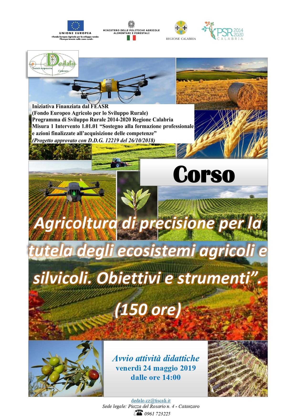 Corso Agricoltura di precisione